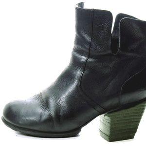 JOHN FLUEVOG boots zip up leather ROSY 9